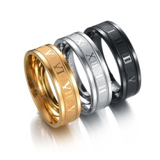 romedigitalring, men_rings, Fashion, titaniumsteelringsformen