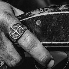 viking, ringsformen, boyfriendgift, Stainless steel ring