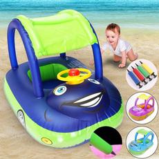 Summer, pool, summerkidsseatinflatableswimmingboat, Safe
