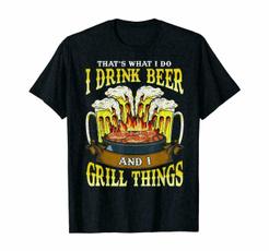 Tops & Tees, Fashion, Cotton Shirt, Grill
