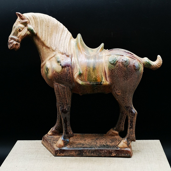 Antique, horse, Cup, Home & Living