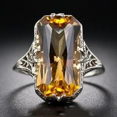Sterling, Antique, DIAMOND, Jewelry