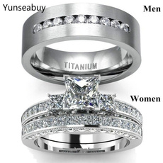 Sterling, ringsformen, DIAMOND, Princess