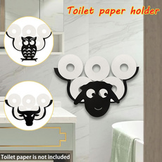 Sheep, toiletpaperholder, Bathroom, wallmounted