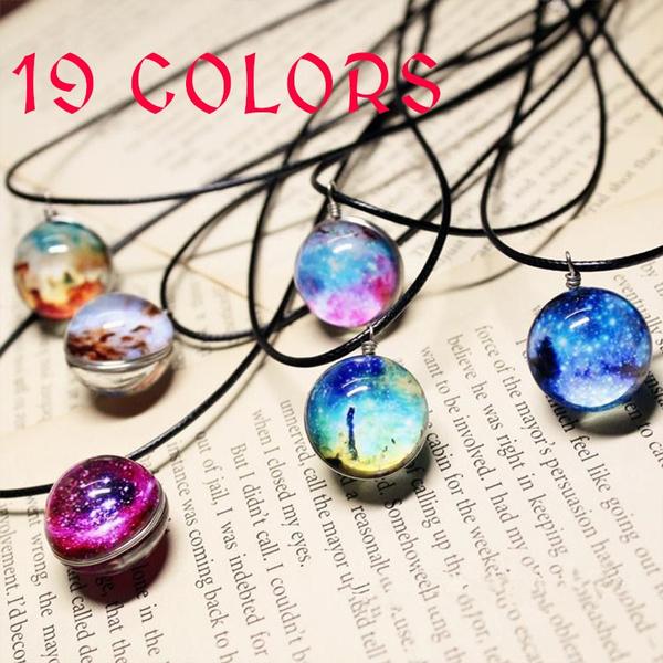 planetpendant, Fashion, Jewelry, Glass