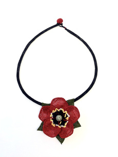 Lace, neddlelace, Handmade, Necklaces For Women