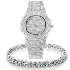 hip hop jewelry, gold, diamondwatche, Watch