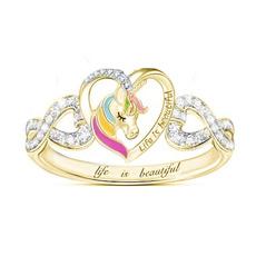 golden, Fashion, Love, wedding ring