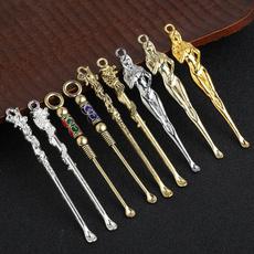 Mini, Key Chain, Bullet, earspoon