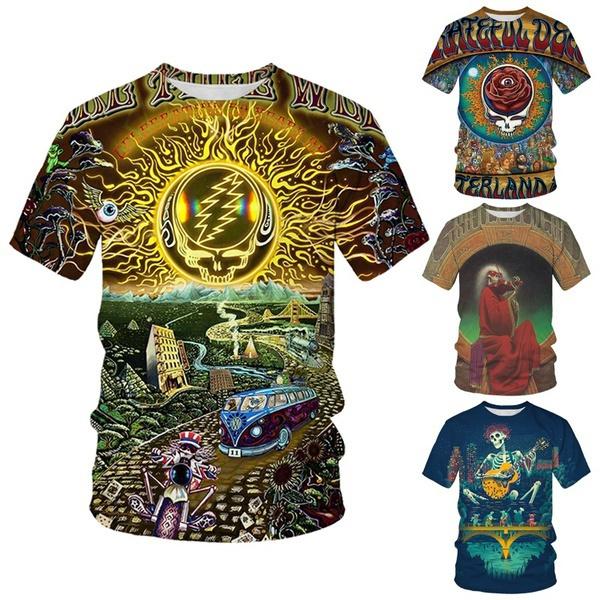 Summer, Fashion, Shirt, skull