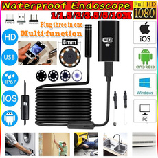 led, 1080phdcamera, 3in1usbcable, Waterproof