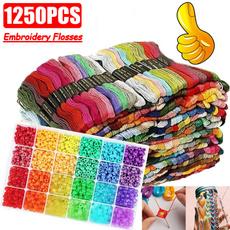 rainbow, embroiderythread, crossstitchthread, Gifts