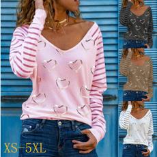shirtsforwomen, Summer, Plus Size, Love