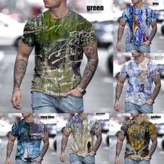 Mens T Shirt, Plus Size, sportsfitnes, Cotton T Shirt
