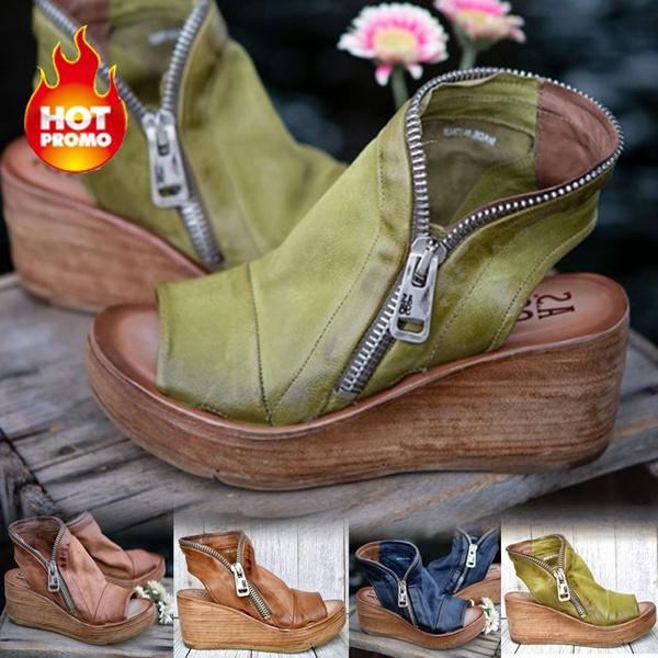 Summer, Sandals, Leather Boots, summersandal