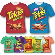 Mens T Shirt, Snacks, tshirt men, short sleeves