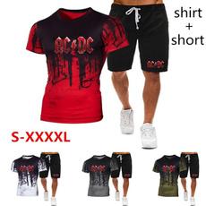 Summer, sportsuitmen, Shirt, Sleeve