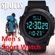 LED Watch, motiondigitalwatch, hikingwatch, Outdoor