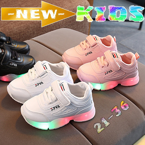 shoes for kids, Children, lightweightshoe, led