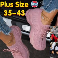 Shoes, Sneakers, Plus Size, Lace