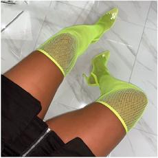 Summer, Boots, Slippers, Stiletto