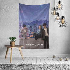 myhololovetapestry6040inch, Love, Family, windowhanging