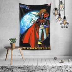 spacepiratecaptainharlocktapestry6040inch, Family, windowhanging, Home & Living