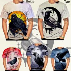 Summer, birdtshirt, unisex, Tops