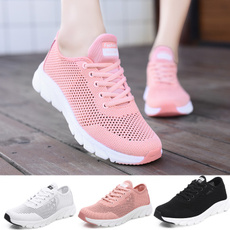 Summer, Sneakers, Outdoor, Lace