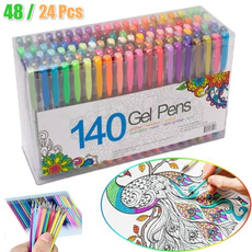 Pastels, sketch, art, colorpen