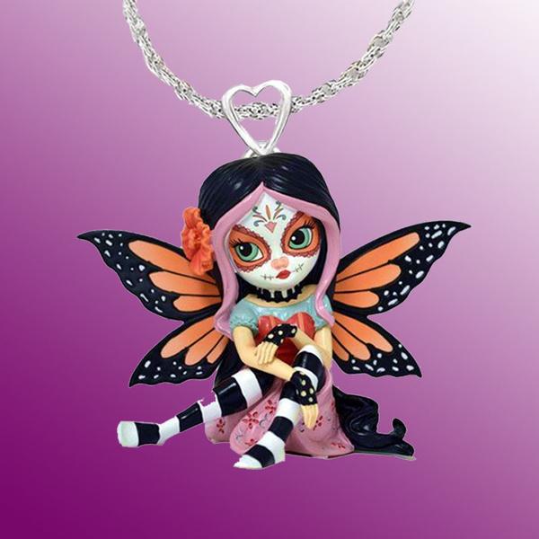 childrensjewelrybownecklace, Goth, Jewelry, 925sterlingsilverladiesnecklace