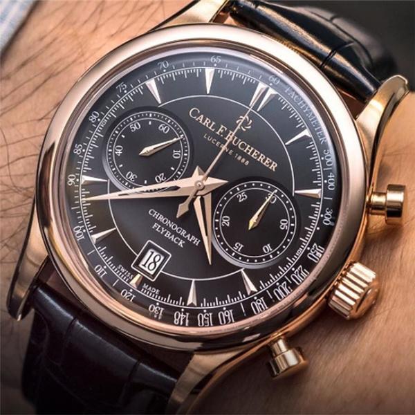 Steel, Chronograph, chronographwatch, business watch