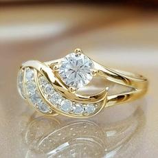 DIAMOND, wedding ring, Gifts, Silver Ring