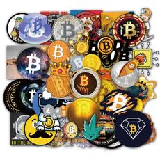 Car Sticker, suitcasesticker, bitcoinsticker, Luggage