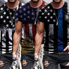 Summer, summer t-shirts, Sleeve, Stripes