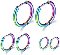 Steel, Hoop Earring, surgicalstainlesssteelhoopearring, Jewelry