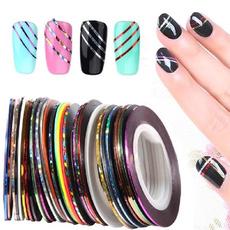 nail decoration, stripingdecalsfoil, nail stickers, art