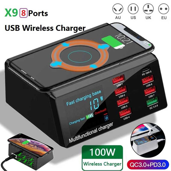 led, usb, Wireless charger, Usb Charger