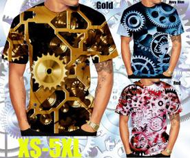 Summer, shortsleevestshirt, 3dmentshirt, gear