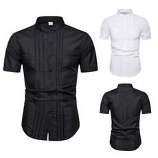 button, Summer, Shorts, Shirt