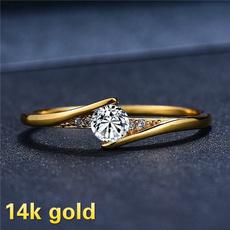 DIAMOND, Jewelry, gold, diamondweddingring