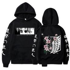 Fashion, attackontitanhoodie, Hoodies, men hoodie