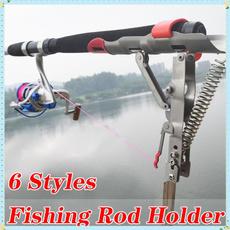 Steel, adjustablefishingrod, fishingrodholder, Stainless Steel