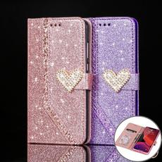 case, Heart, iphone12, DIAMOND