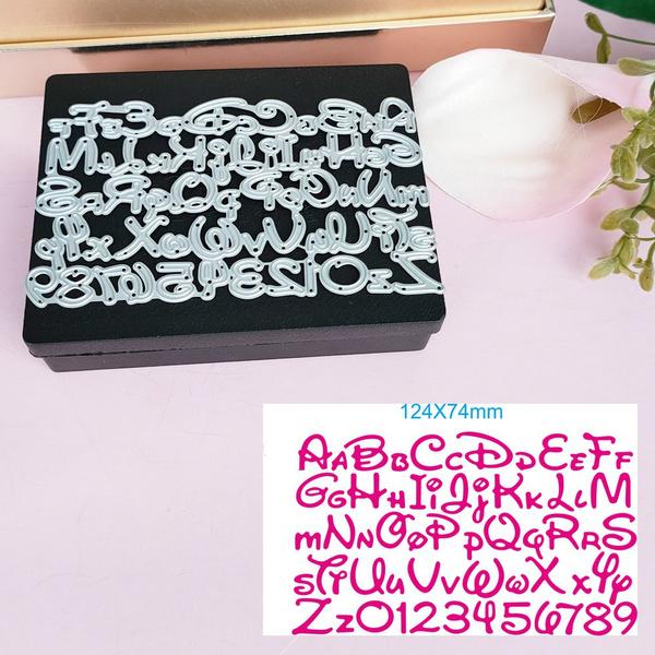 alphabetletter, Scrapbooking, scrapbookingamppapercraft, metalcuttingdie