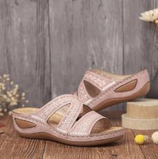 beach shoes, Sandals, Women Sandals, wedge