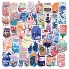 Kawaii, Summer, suitcasesticker, carssticker