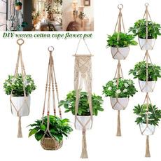 flowerpotsling, hangingflowerpot, flowerpot, Home Decor
