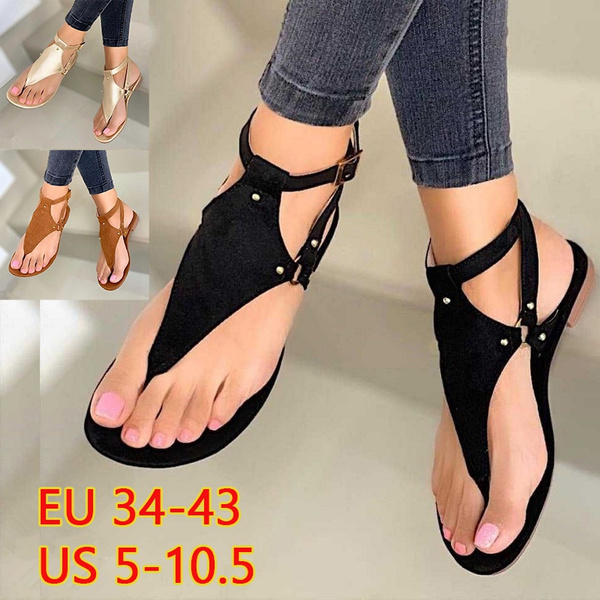 Summer, Plus Size, Flip Flops, Slippers