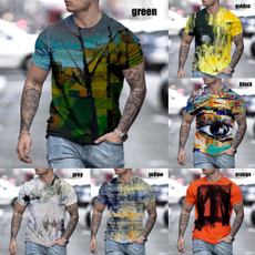 Summer, Shorts, Cotton T Shirt, vikingtshirt